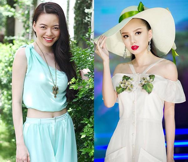 """Cô em gái gợi cảm, là ứng viên Hoa hậu Việt Nam của """"Nữ hoàng sắc đẹp"""" Vũ Hoàng Điệp - Ảnh 1."""