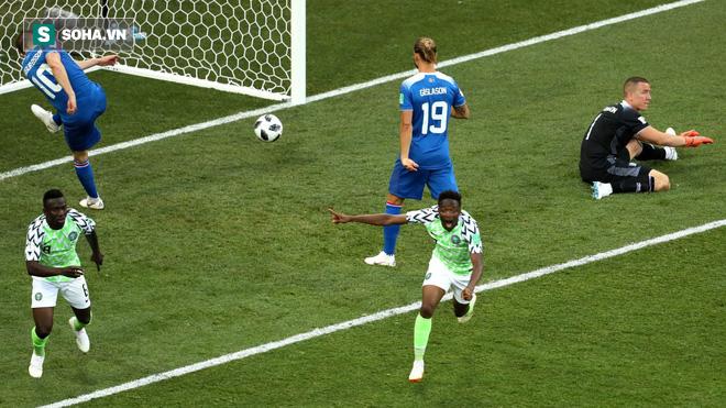 Kiêu hãnh quật ngã Iceland, Đại bàng xanh gieo niềm hi vọng mong manh cho Argentina 1