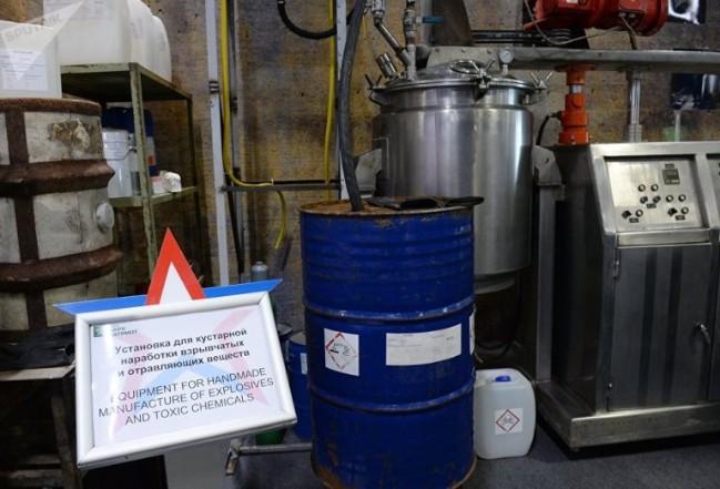 Nga tố thiết bị sản xuất vũ khí hóa học dùng tại Syria có xuất xứ Tây Âu