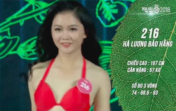 NÓNG: Phát hiện lỗi sai khó tin về 5 người đẹp thi bikini Chung khảo phía Nam Hoa hậu Việt Nam - Ảnh 12.