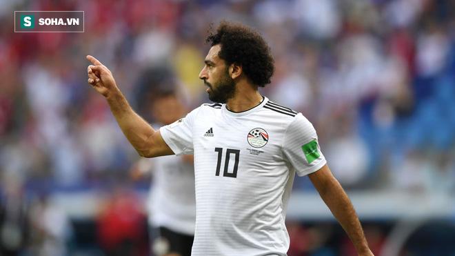 Salah lập chiến công, Ai Cập vẫn tay trắng rời World Cup vì VAR - Ảnh 1.