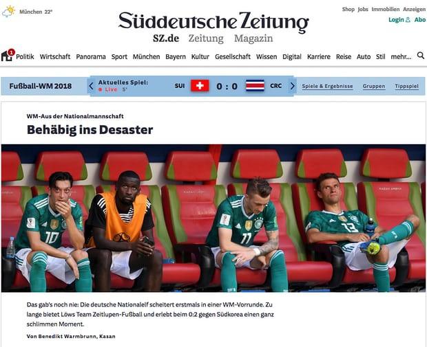 Báo chí quốc tế chấn động khi Đức thảm bại: 'Sự kết thúc của thế giới chúng ta từng biết' 4