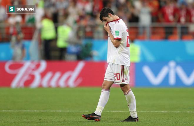 Sốc: 'Messi Iran' giải nghệ vì nhận quá nhiều xỉ vả sau thất bại ở World Cup 1