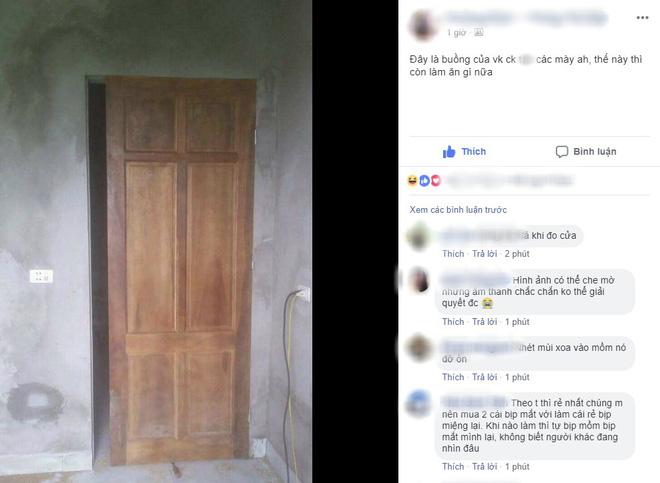 Chiếc cửa hở khe lắp cửa buồng tân hôn vợ chồng trẻ khiến ai nhìn cũng toát mồ hôi: Thế này thì còn làm ăn gì nữa? - Ảnh 1.