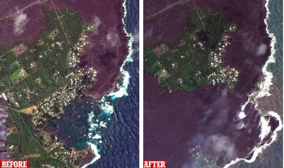 Núi lửa Kilauea đã giúp Hawaii mọc thêm hàng km đất mới mà vẫn chưa có dấu hiệu dừng lại - Ảnh 2.
