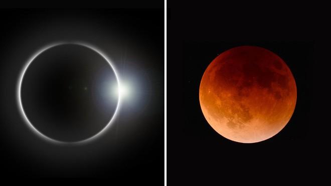 Sự trùng hợp đáng kinh ngạc khiến cho Mặt Trăng và Mặt Trời không cùng kích cỡ mà vẫn che khuất được nhau - Ảnh 1.