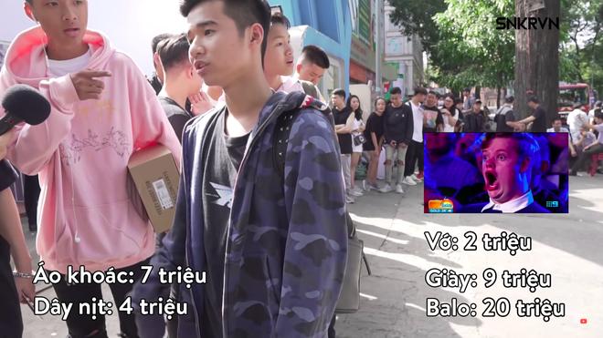 Clip các bạn trẻ Việt bóc đồ hàng hiệu trên người: Đám trẻ trâu và những phán xét xấu xí - Ảnh 3.