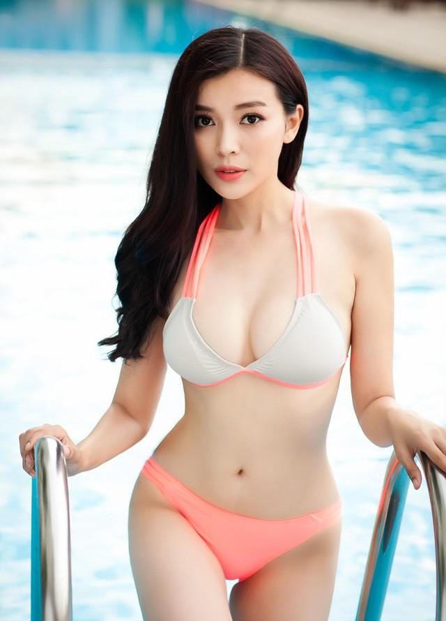 Vẻ nóng bỏng của diễn viên ít danh tiếng, đảm nhận vai thứ chính Hậu duệ mặt trời bản Việt - Ảnh 3.