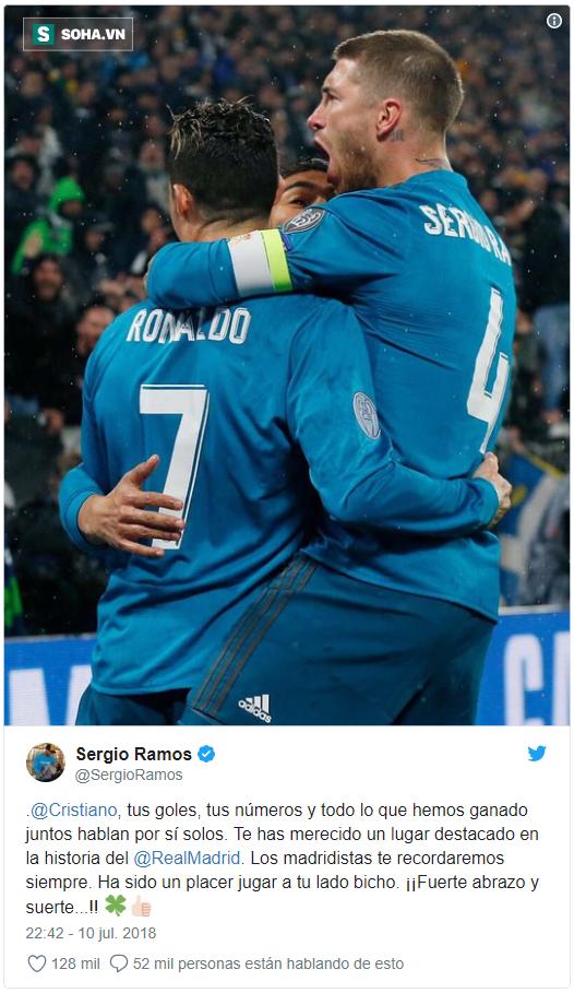 Đăng ảnh ôm nhau thật chặt, sao Real tiễn biệt Cris Ronaldo - Ảnh 1.