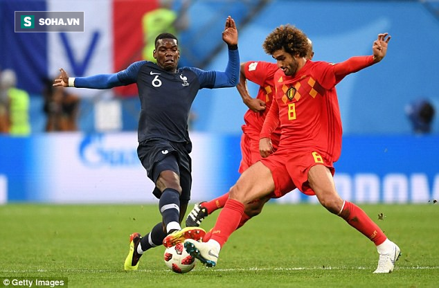 Tỏa sáng ở World Cup, Paul Pogba khiến HLV Mourinho đau đầu? - Ảnh 1.