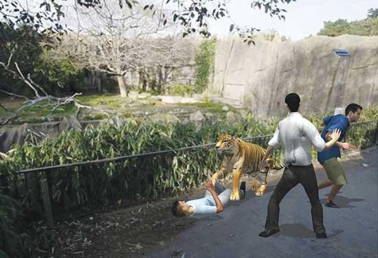Trung Quốc: Cùng mẹ cho khỉ ăn ở vườn thú, bé gái bất ngờ bị con vật đấm vào mặt - Ảnh 4.