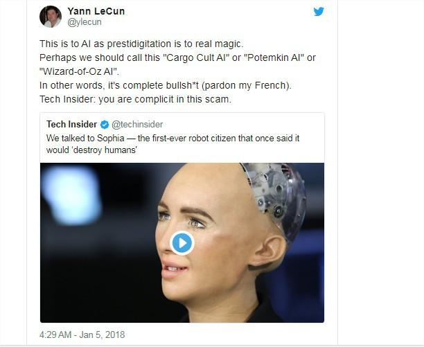 Giám đốc AI của Facebook tuyên bố: Sophia chỉ là con rối - nữ robot đáp trả thế nào? - ảnh 2