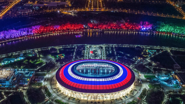 Điều đặc biệt chưa từng có tại sân vận động diễn ra trận chung kết World Cup 2018 - Ảnh 2.