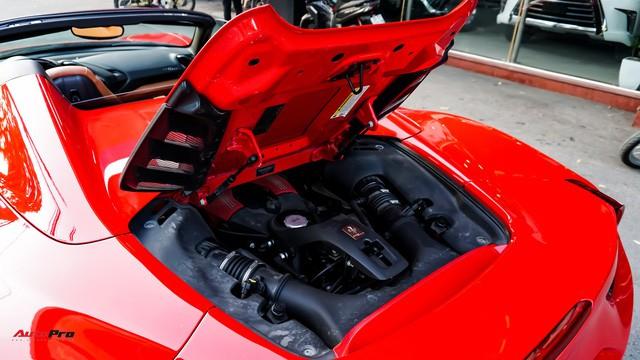Ferrari 488 Spider kí gửi tại showroom xe cũ Hà Nội với giá ngang Mercedes-Maybach S500 - Ảnh 11.