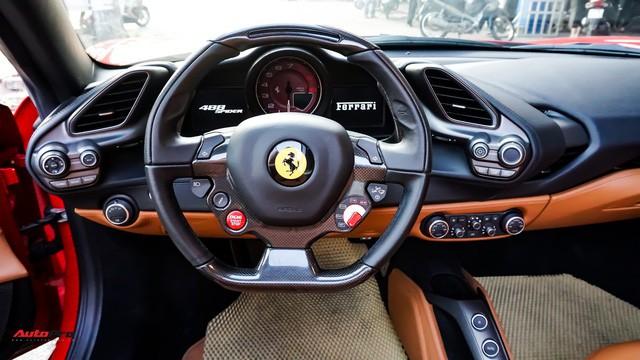 Ferrari 488 Spider kí gửi tại showroom xe cũ Hà Nội với giá ngang Mercedes-Maybach S500 - Ảnh 13.