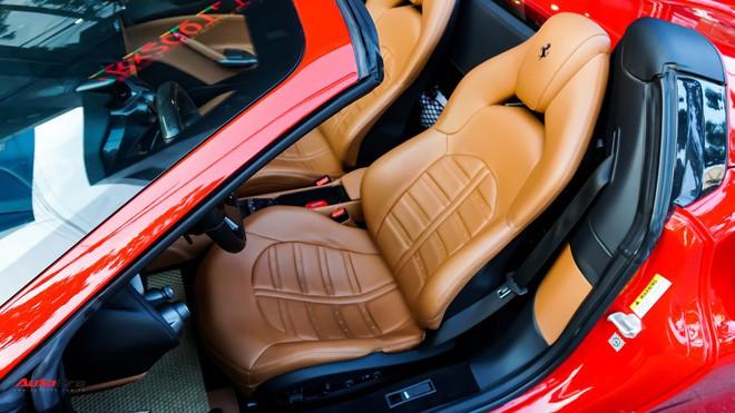 Ferrari 488 Spider kí gửi tại showroom xe cũ Hà Nội với giá ngang Mercedes-Maybach S500 - Ảnh 29.
