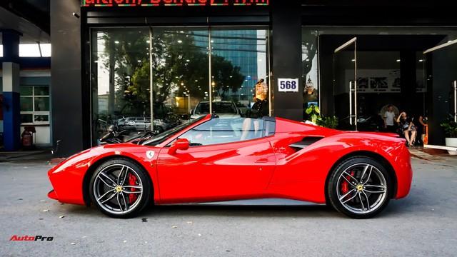 Ferrari 488 Spider kí gửi tại showroom xe cũ Hà Nội với giá ngang Mercedes-Maybach S500 - Ảnh 32.