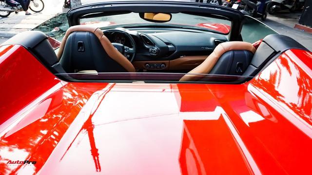 Ferrari 488 Spider kí gửi tại showroom xe cũ Hà Nội với giá ngang Mercedes-Maybach S500 - Ảnh 33.