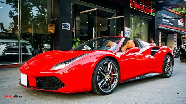 Ferrari 488 Spider kí gửi tại showroom xe cũ Hà Nội với giá ngang Mercedes-Maybach S500 - Ảnh 34.