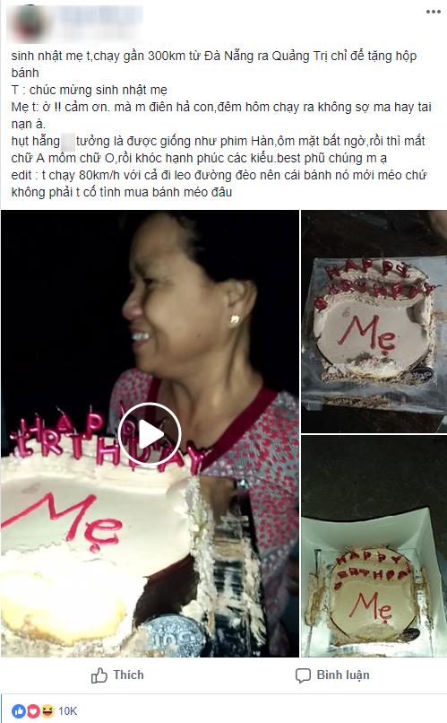 Chạy 300km tặng bánh sinh nhật cho mẹ, vừa gặp mẹ đã nói một câu phũ phàng khác hẳn phim Hàn Quốc - ảnh 1