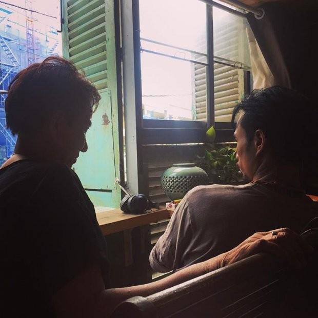 Bà xã chia sẻ khoảnh khắc an yên của Phạm Anh Khoa bên các con sau scandal bị tố gạ tình - Ảnh 4.