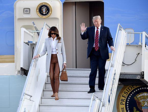 Đệ nhất phu nhân Melania Trump diện đồ Gucci, từ chối thương hiệu Phần Lan  - Ảnh 2.