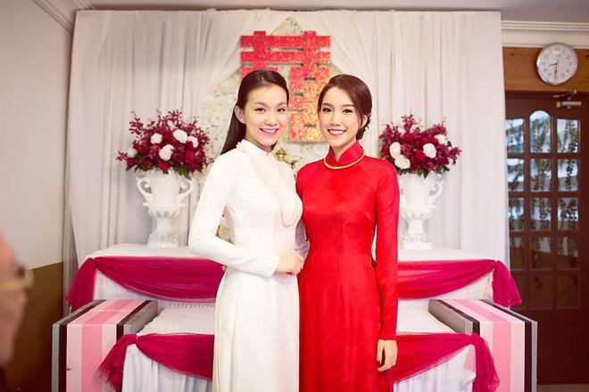 4 cô em gái xinh đẹp của các nàng Hoa hậu Việt: Người kín tiếng với cuộc sống gia đình, người giàu có, kém duyên với cuộc thi nhan sắc - Ảnh 4.