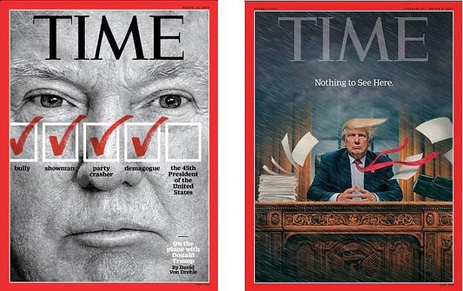 Học báo Đức, tạp chí Time đăng hình chân dung kết hợp của ông Trump và ông Putin - Ảnh 5.