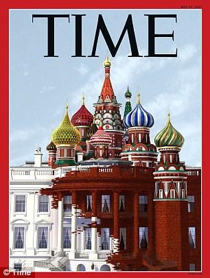Học báo Đức, tạp chí Time đăng hình chân dung kết hợp của ông Trump và ông Putin - Ảnh 4.
