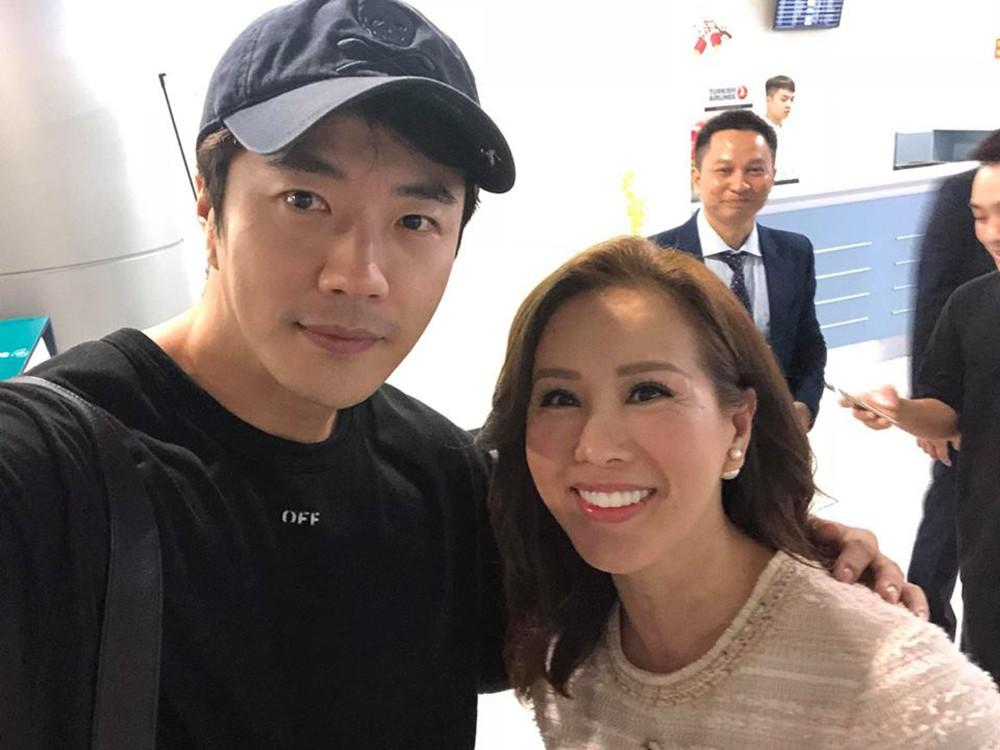 Hoa hậu Thu Hoài đã tặng gì Kwon Sang Woo trước khi tài tử xứ Hàn về nước