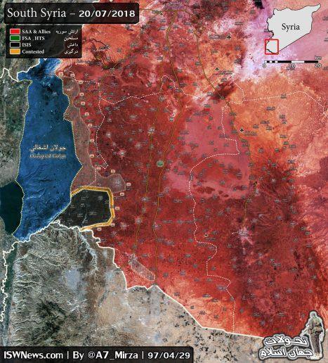 Quân đội Syria đã khiến phiến quân hứng chịu thất bại tồi tệ nhất trong 7 năm qua - Ảnh 1.