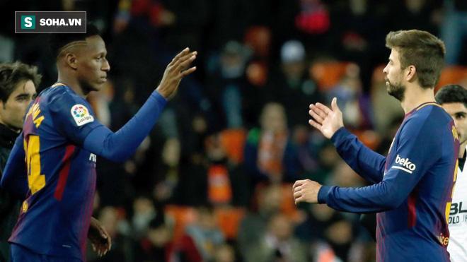 Ghi bàn gấp 3 lần Messi, ngôi sao Nam Mỹ vẫn lo bật bãi khỏi Barcelona - Ảnh 1.