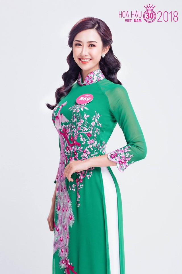 Cận cảnh nhan sắc nữ tiếp viên hàng không gây chú ý, lọt Chung kết Hoa hậu Việt Nam 2018 - Ảnh 2.