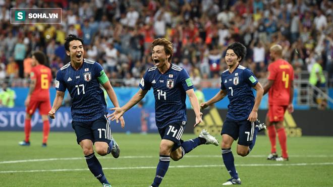 World Cup 2018: Sự liều lĩnh và ngây thơ đã khiến Nhật Bản thua cay đắng trước Bỉ 1