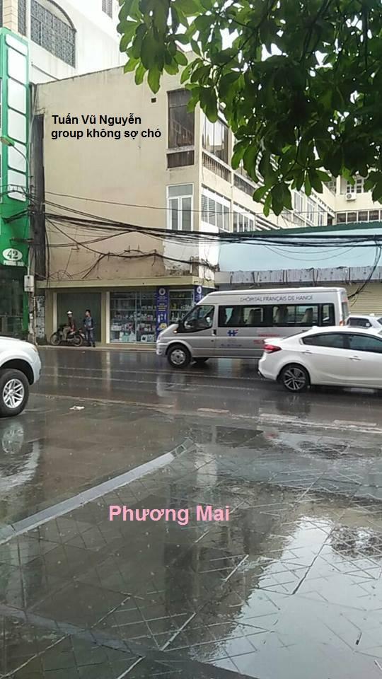 Xuất hiện 10 phút, hơn 1000 bình luận: Bức ảnh độc chỉ có trong cơn mưa Hà Nội chiều nay - Ảnh 8.