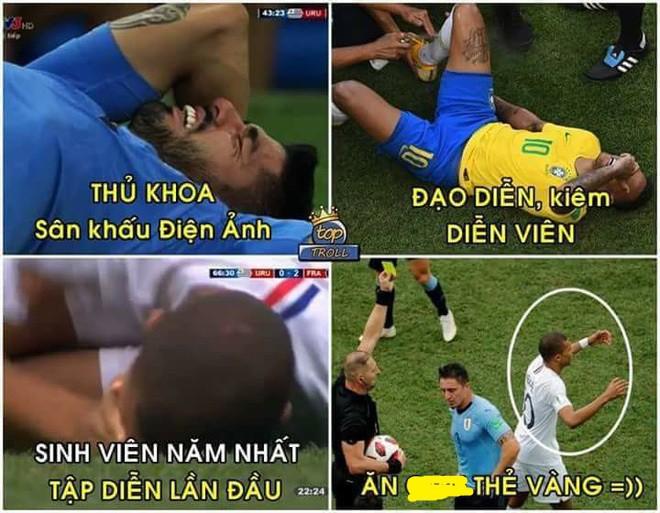 Neymar lại nhận đủ đàm tiếu vì quen thói ăn vạ 9