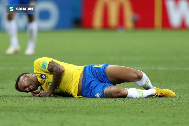 World Cup 2018: Brazil rớt đài, nhưng Neymar còn nhận điều tồi tệ gấp vạn lần thất bại 1