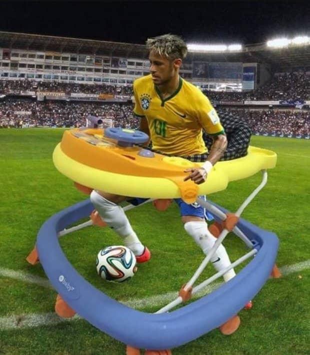 Neymar lại nhận đủ đàm tiếu vì quen thói ăn vạ 3