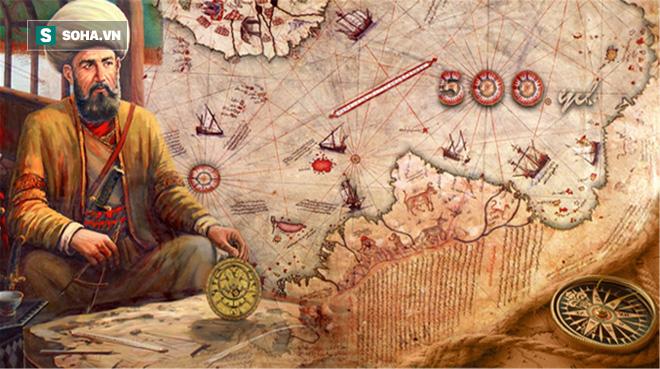Tấm bản đồ vượt thời gian và bí ẩn về nền văn minh cổ đại ở Nam Cực! - Ảnh 2.