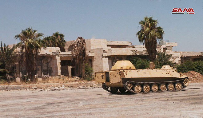 Syria tóm gọn lô xe bọc thép hiện đại của phiến quân: Lộ diện kẻ cung cấp giấu mặt - Ảnh 8.