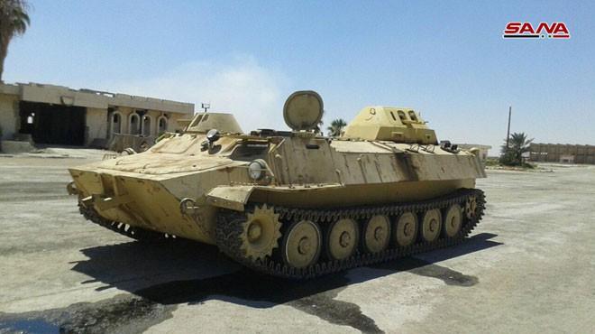 Syria tóm gọn lô xe bọc thép hiện đại của phiến quân: Lộ diện kẻ cung cấp giấu mặt - Ảnh 6.