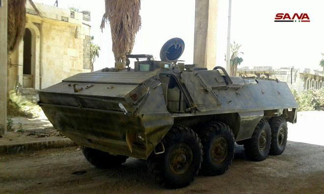 Syria tóm gọn lô xe bọc thép hiện đại của phiến quân: Lộ diện kẻ cung cấp giấu mặt - Ảnh 4.