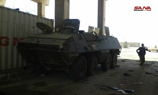 Syria tóm gọn lô xe bọc thép hiện đại của phiến quân: Lộ diện kẻ cung cấp giấu mặt - Ảnh 3.