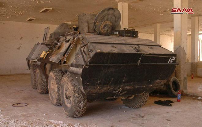 Syria tóm gọn lô xe bọc thép hiện đại của phiến quân: Lộ diện kẻ cung cấp gi& #7845;u mặt - Ảnh 5.