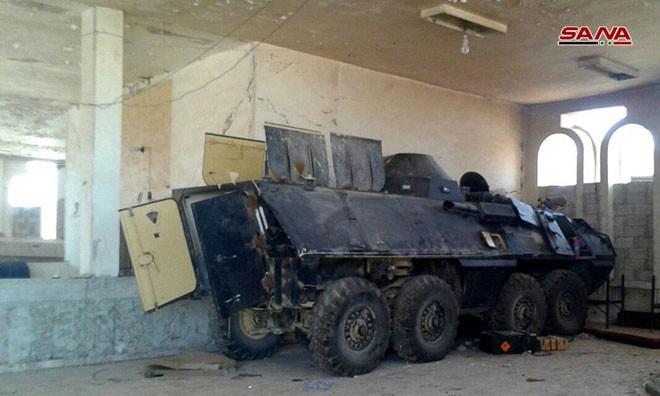 Syria tóm gọn lô xe bọc thép hiện đại của phiến quân: Lộ diện kẻ cung cấp giấu mặt - Ảnh 7.