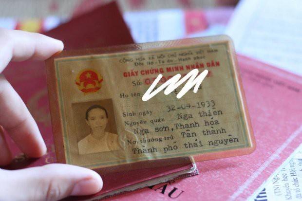 Giấy CMND siêu lạ lùng của cụ bà U80 sinh ngày 32/4 khiến dân mạng cười sái quai hàm - Ảnh 2.