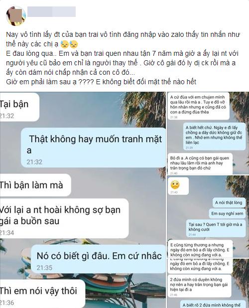 Vô tình đọc tin nhắn trong điện thoại bạn trai, cô gái chết lặng khi bị coi là người thay thế suốt 7 năm ròng - ảnh 1
