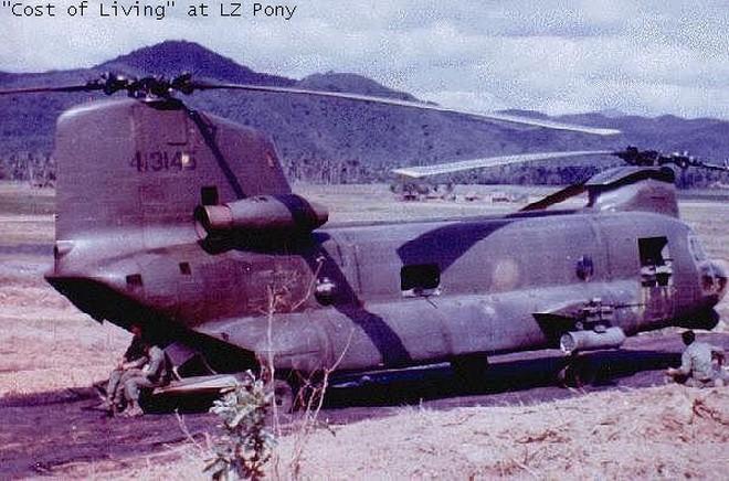Phiên bản hỏa lực mạnh của trực thăng CH-47 Mỹ từng triển khai tại Việt Nam - Ảnh 2.