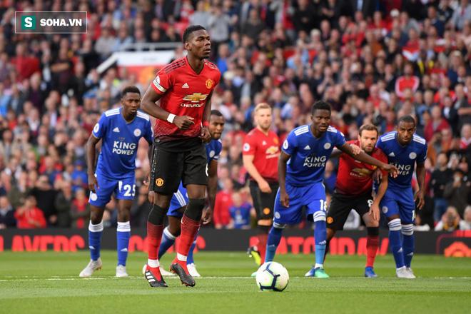 Hình ảnh Mourinho hé lộ cuộc nói chuyện biến Pogba thành quái vật trước Leicester số 1