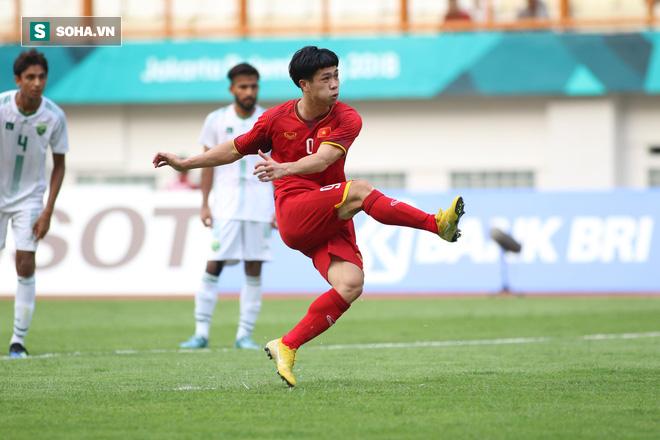 HLV Park Hang-seo vẫn không chịu ăn mừng khi U23 Việt Nam dẫn trước 2-0 - Ảnh 4.